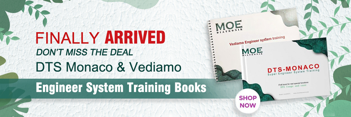 DTS Monaco Vediamo training books