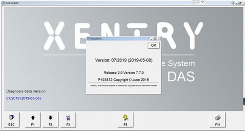 V7/2019 MB SD Connect Compact C4 Xentry Software WIN7 500GB HDD Support DoIP Protocol