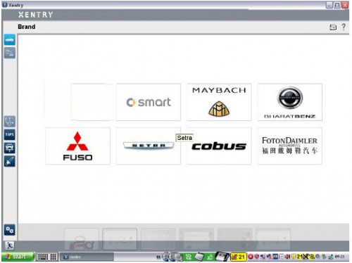 Mitsubishi Fuso Xentry Truck Diagnostic Software HDD for Mitsubishi Fuso C5 Diagnostic Kit & SD Connect C5