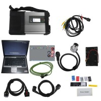 MB SD C5 Star Diagnosis with V9/2019 Xentry Openshell XDOS 256GB SSD Plus Second Hand DELL D630 Laptop with 4GB RAM