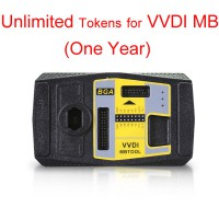 One Year Subscription of Unlimited Tokens for Xhorse VVDI MB BGA Tool