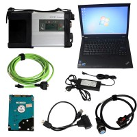 MB SD Connect DoIP C5 Star Diagnosis with V5/2019 Xentry Openshell XDOS Software Plus Lenovo T410 Second-hand Laptop