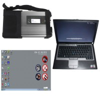 MB SD C5 Star Diagnosis with V03/2020 Xentry Openshell XDOS 256GB SSD Plus Second Hand DELL D630 Laptop with 4GB RAM