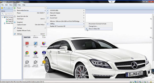 activate Benz Super MB Star C3 diagnostic DAS and Xentry