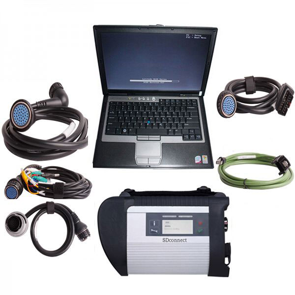 MB SD C4 with Dell laptop D630