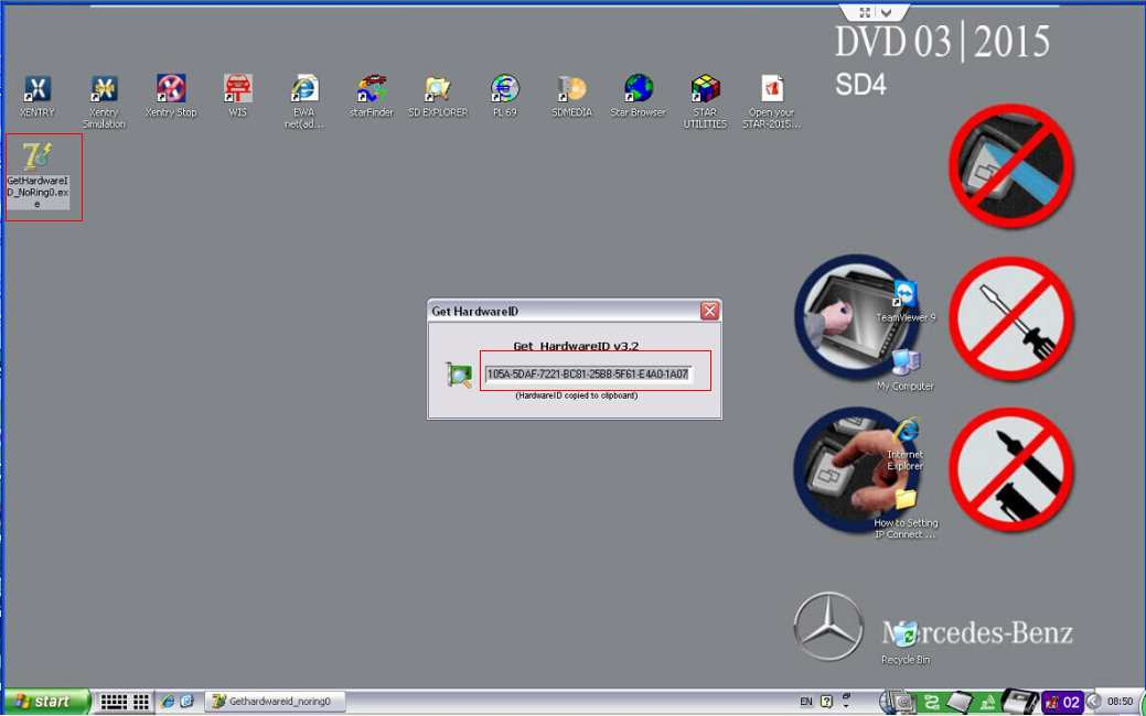 MB sdconnect 2015.7 activation and diagnosis