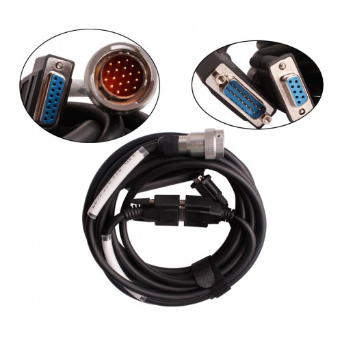 V2015.12 Cost-effective Star C3 Pro Red Interface With Seven Cable for Truck and Cars