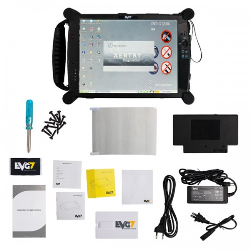 EVG7 Touch Screen DL46/HDD500GB/DDR4GB Diagnostic Controller Tablet PC