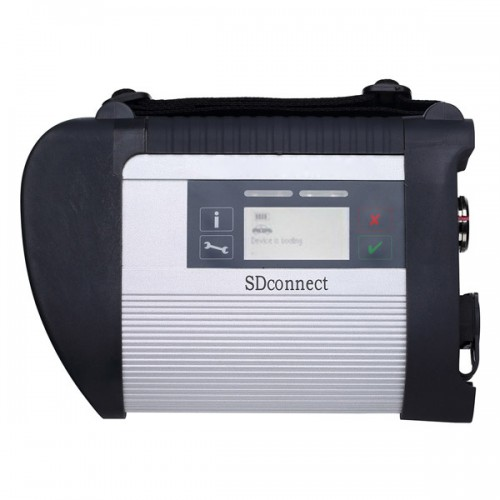 MB SD Connect Compact C4 with 2012.11 Software Support Offline Programming (with database)
