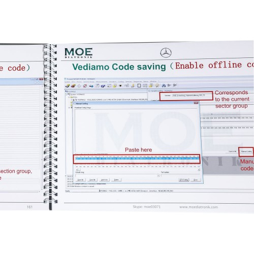 [No Return] Moe Diatronic Vediamo Engineer System Training Book Vediamo Usage and Case