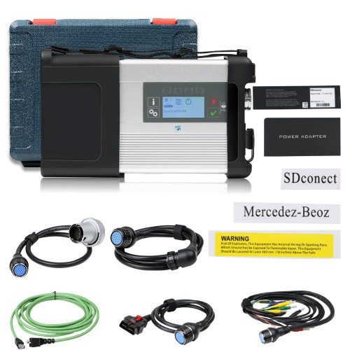 V3/ 2021 MB SD Connect C5 Star Diagnosis with XENTRY Software SSD Support DoIP for Cars and Trucks
