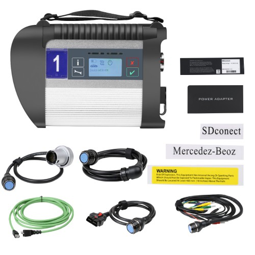V06/2020 MB SD Connect C4 Wifi Mercedes Star Diagnosis with XENTRY Software HDD Support DoIP for Cars and Trucks