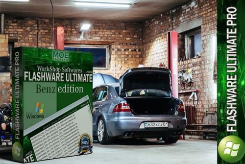 Flashware Ultimate Pro 1 Year Full Unlimited PRO Access for all Mercedes Benz workshops