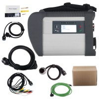 MB SD Connect Compact 4 Mercedes MB Star Diagnosis with V3/2020 Xentry Software HDD Support WIFI