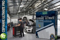 CBFWare Ultimate Pro 1 Year Full Unlimited PRO Access for all Mercedes Benz workshops
