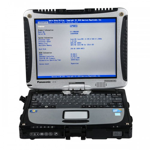 V3/ 2021 MB SD C5 Connect Compact 5 Star Diagnosis Plus Panasonic CF19 I5 4GB Laptop XENTRY SSD Software Pre-installed
