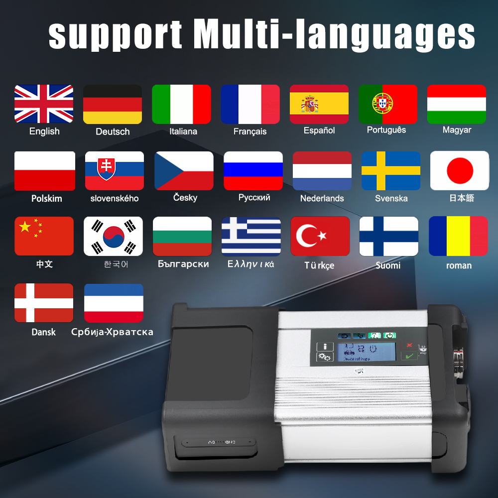 MB SD C5 languages