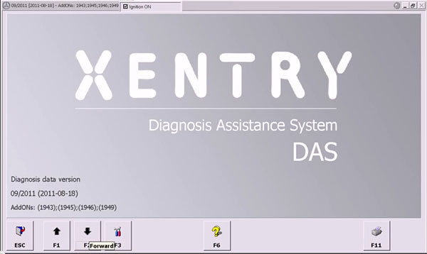 Remove  truck Adblue with  Star Diagnostic Xentry software