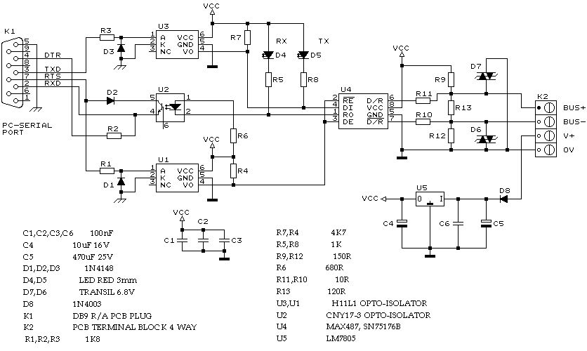 best quality star c3 rs232 to rs485 cable wiring diagram