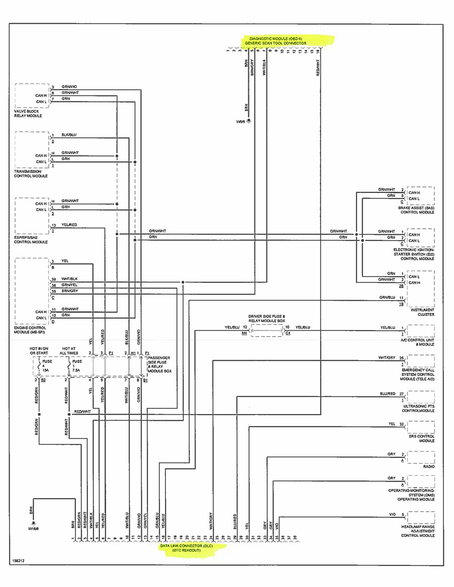 Wiring Diagram Mercedes W210 Auto Electrical 1974 Benz Diagrams And Schematics Radio For 2013